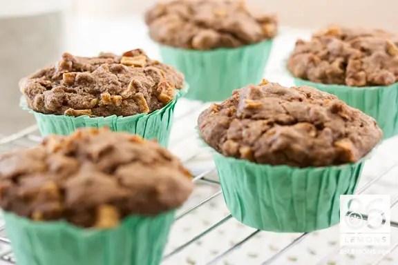 Banana-Apple Buckwheat Muffins  86lemons.com #vegan #glutenfree #sugarfree #healthy #recipe