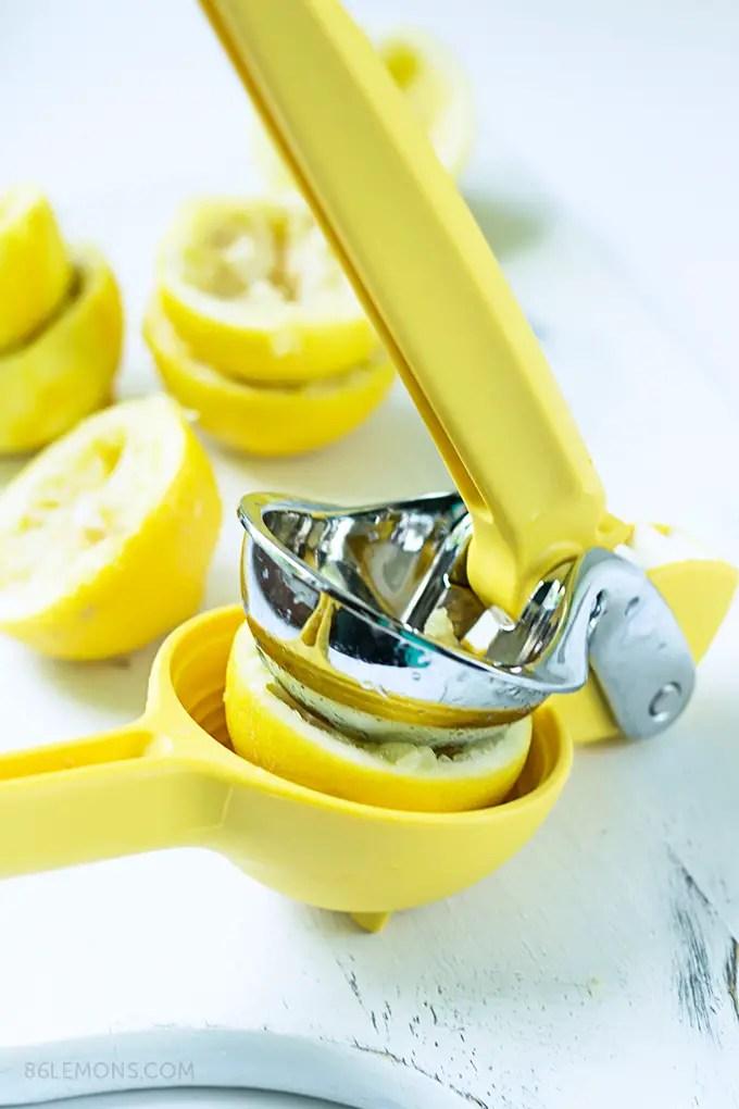 Vegan lemon tart filling