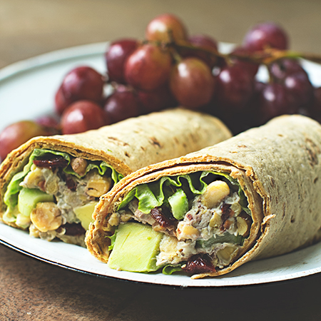 chickpea wrap recipe