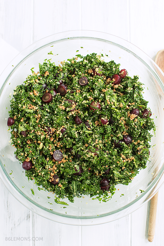 Gluten Free Chopped Kale Salad