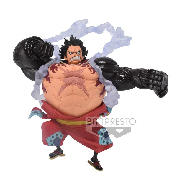 Among many other things, luffy's height is also affected by his usage of gear 4. One Piece: King of Artist: Monkey D. Luffy - Gear Fourth ...