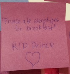 Post-it: Prince ate stereotypes for breakfast