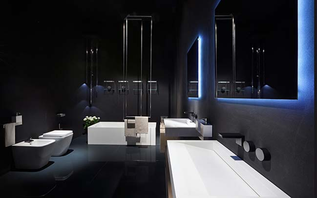 Rifra: Luxury Modern Bathroom Designs With Light Effect