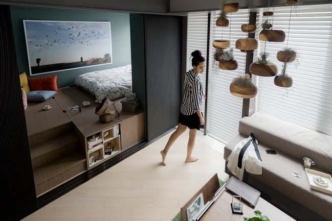 Million Dollar Small Apartment 400 Sqft