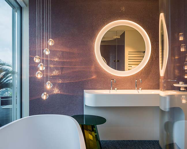 Show Apartment: Chromatic Spaces In Shanghai By Ippolito