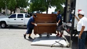 Albuquerque piano moving services