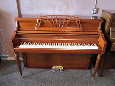 Pearl River model UP-110P8 Italian provincial console piano