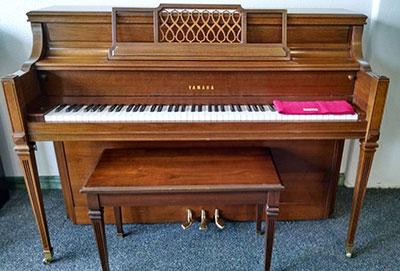 Sold… Yamaha console piano – 42″
