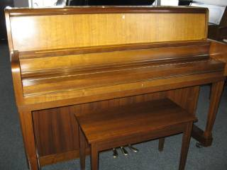 Kawai model UST-6 Studio Upright Piano in a school style and
