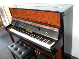 Gebr Perzina model GP-122 Studio Upright Piano