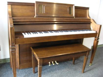 Charles Walter model 403 Console Piano