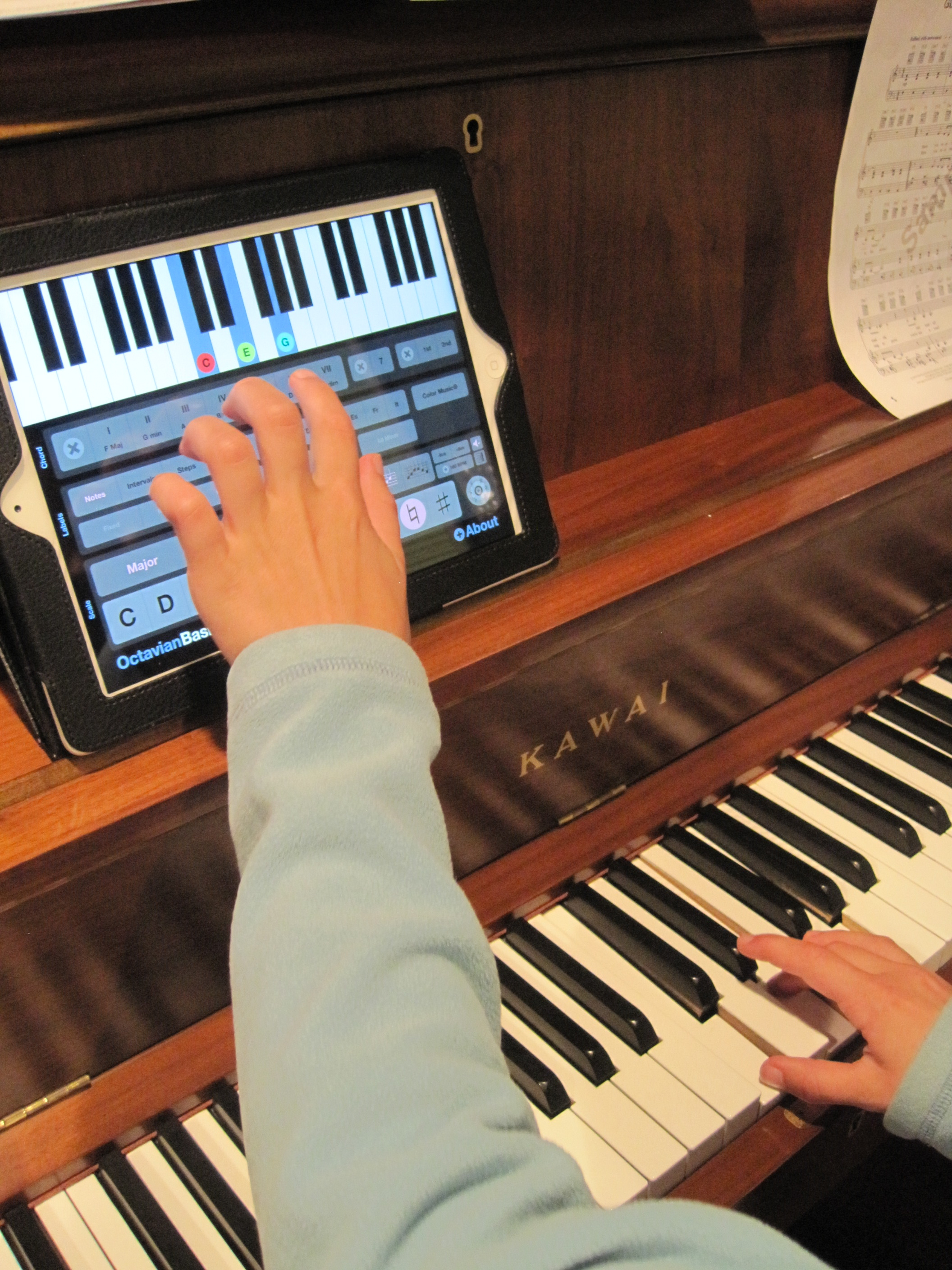 One App At A Time Octavian Basics And Octavian 88 Piano Keys