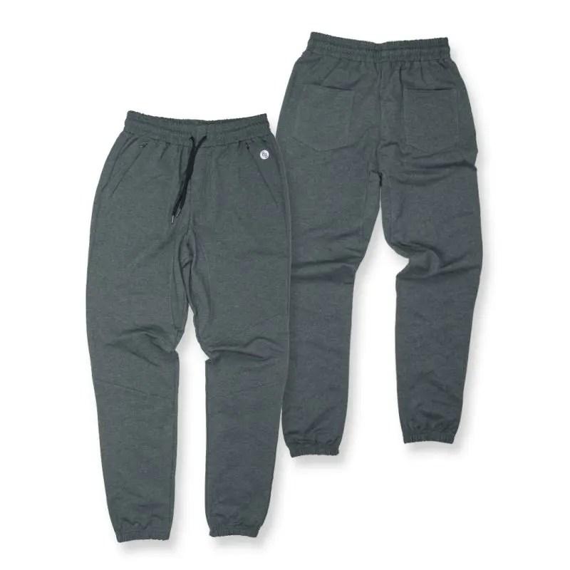 grey tech joggers