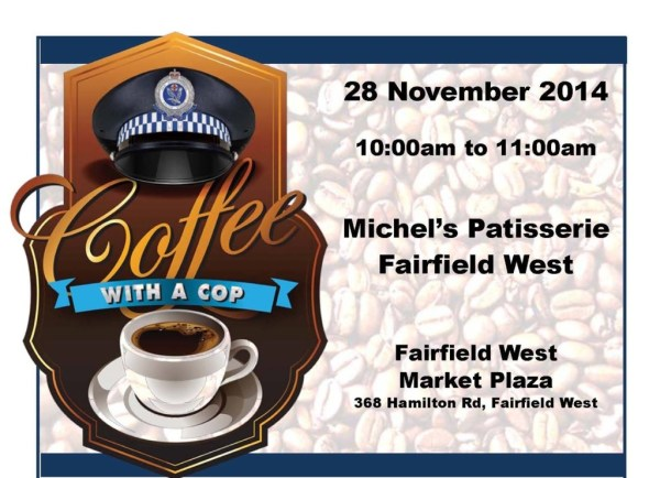 FAC Cuppa with a Cop