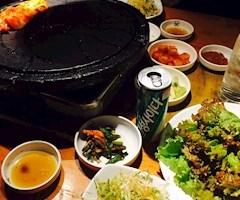 池袋キャバクラはちみつくろーばー ひびき 韓国料理