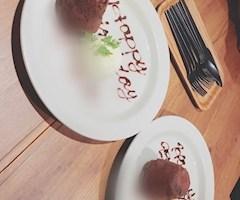 池袋キャバクラはちみつくろーばー のん チョコケーキ