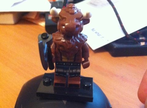 Gow found the gatekeeper to the Secret Hidden Lego Cow Level!