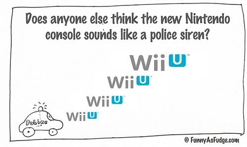 So many Wii U jokes, So little time