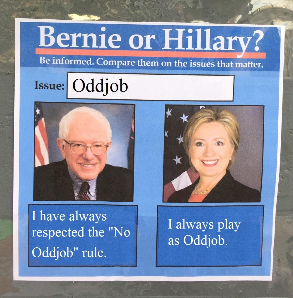 BernieorHiliaryOddjob