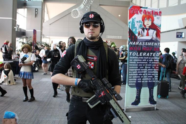 Resident Evil USS cosplay SacAnime Summer 2017