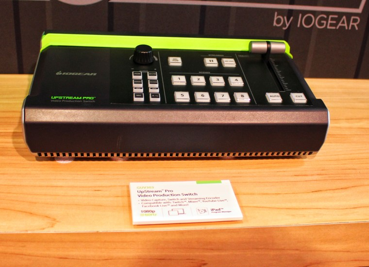 IOGear CES 2020 UpStream Pro Video Production Switch