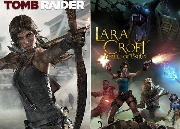Tomb Raider 2013 And Lara Croft And The Temple Of Osiris For