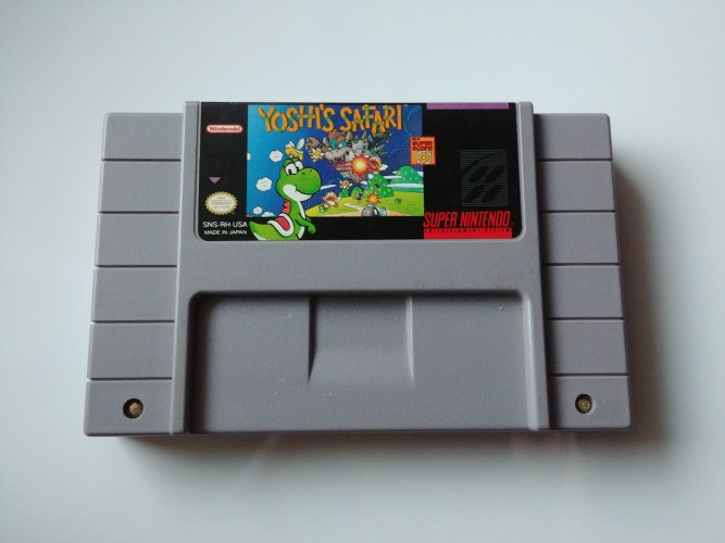 Yoshi's Safari SNES – Retro Game Showcase