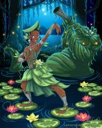swamp_bender__tiana_by_racookie3-d6atyzq