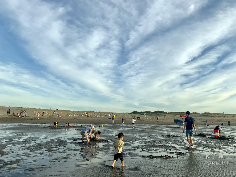桃園海邊竹圍沙灘