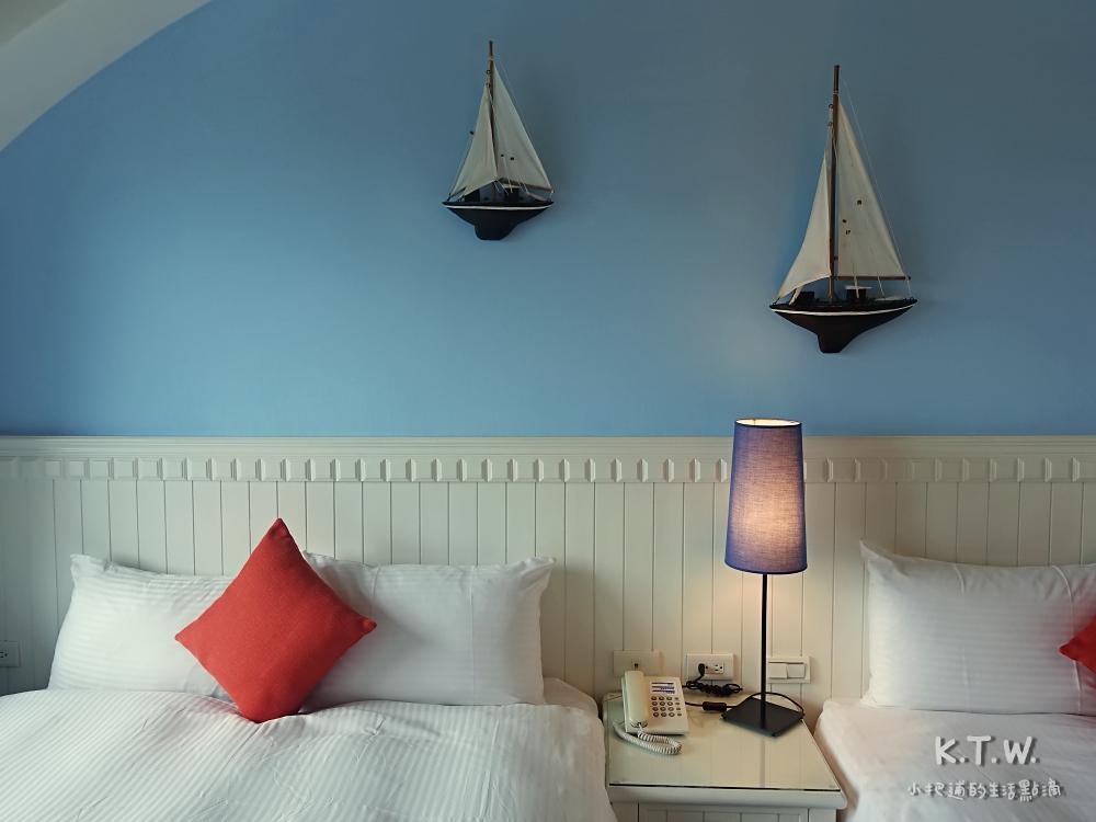 七星潭渡假飯店 房間內部