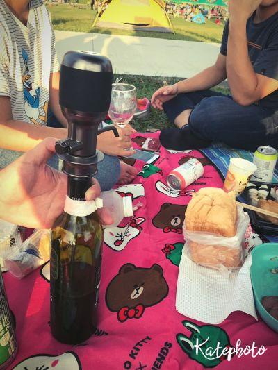 Vinaera Pro電子醒酒器野餐去