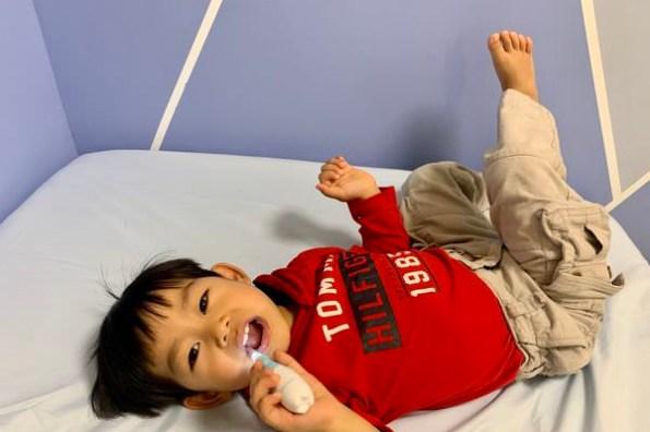 [育兒] 每天最重要的小事!訓練從小就喜歡刷牙的小妙招|Babymate 幼兒/兒童 音波/聲波電動牙刷|1-3歲電動牙刷開箱分享