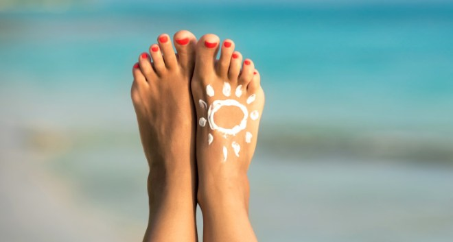 Image result for sunscreen applying