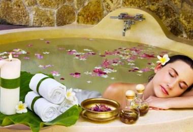 Целебное действие ванны