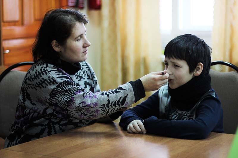 Ангина и фарингит у детей