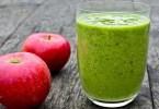 Смузи с яблоком и имбирём