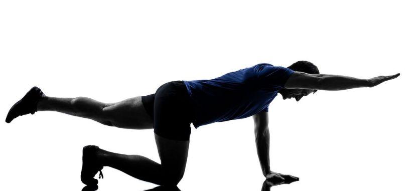 5 упражнений на укрепление мышц спины