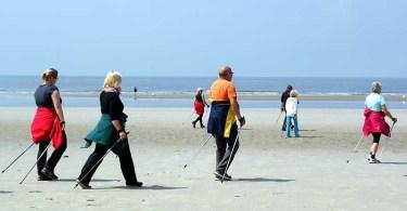 Скандинавская ходьба при ХОБЛ и других заболеваниях