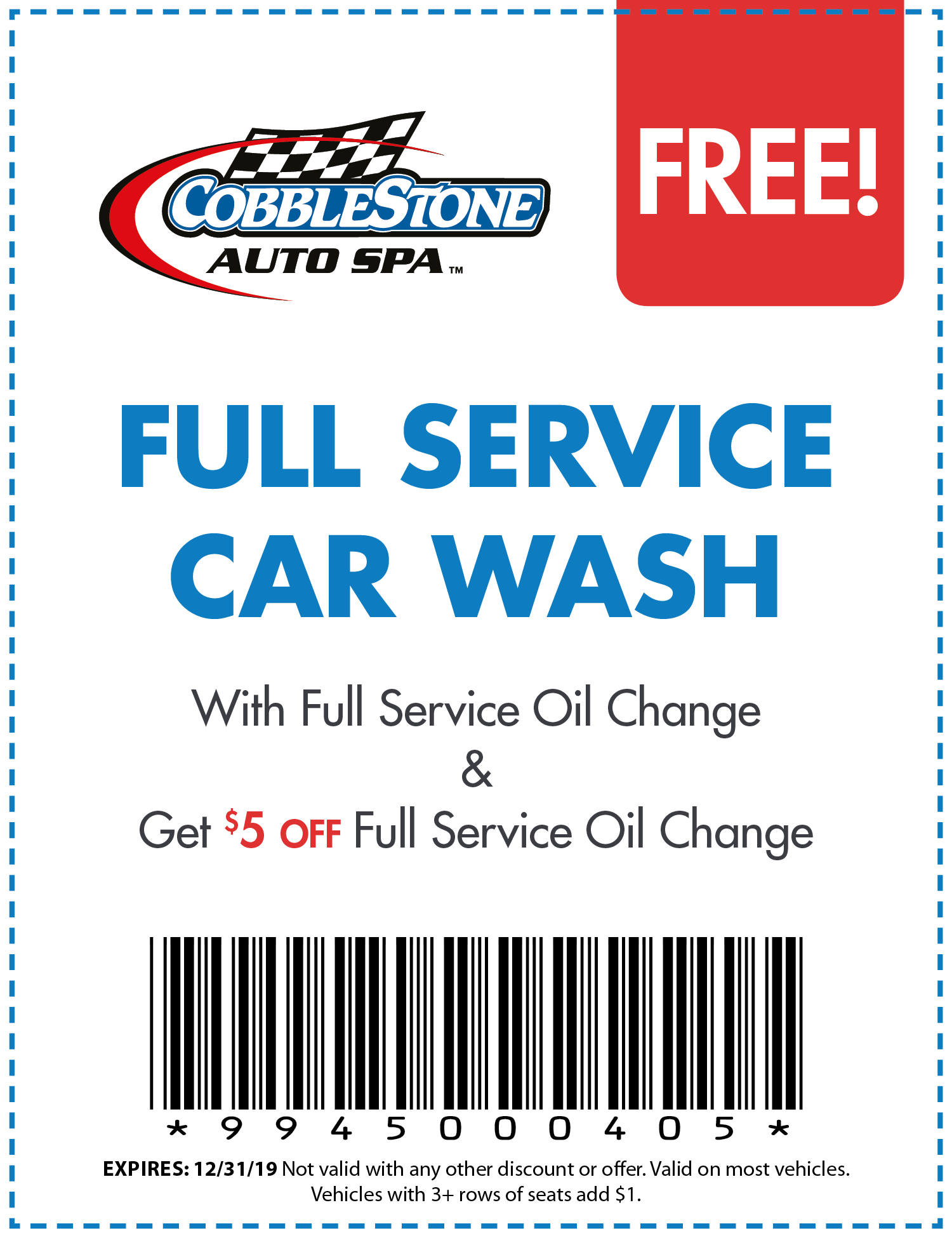 Cobblestone Car Wash Coupons