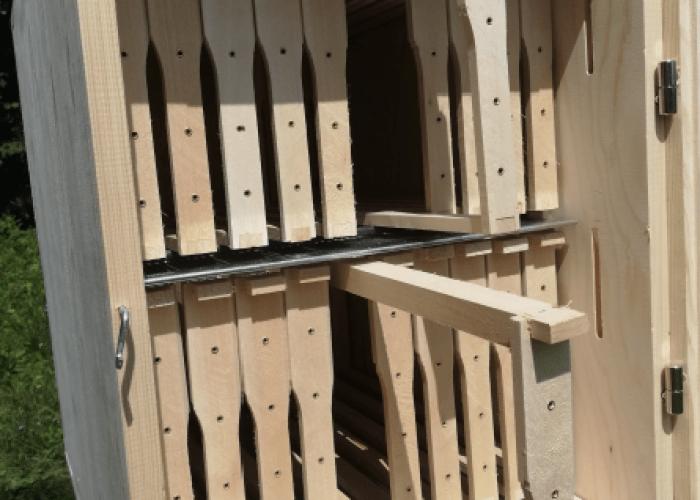Frames inside a 20 frame hybrid AZ hive
