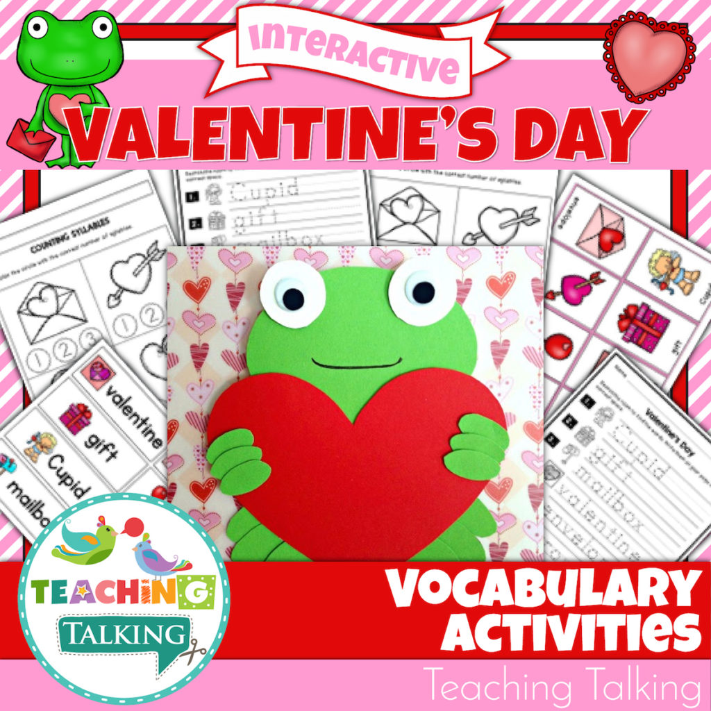 Valentine S Day Vocabulary Worksheet