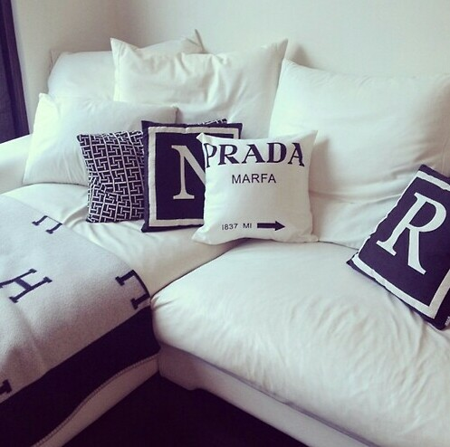 idea 567074 prada home and pillows