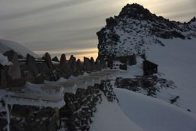 Stone camp at Muir
