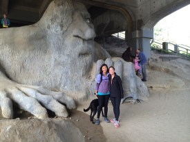 Hanging out with the Fremont Troll