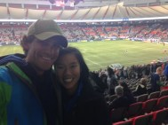 Vancouver Whitecaps game!