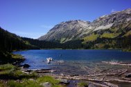 Tenquille lake! We were actually supposed to hike to this lake, before we cancelled the trip because of work.