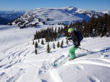 Skiing! Photo credit: Nancy Bolden