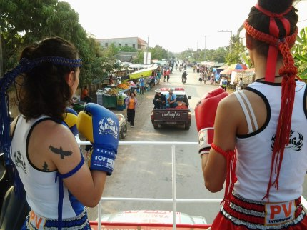 Muay Thai Parade - Isaan Nongbualamphu