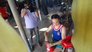 Muay Dee Wit Tee Thai TV shoot