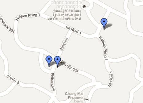 Chiang Mai University - Main Library - Post Office